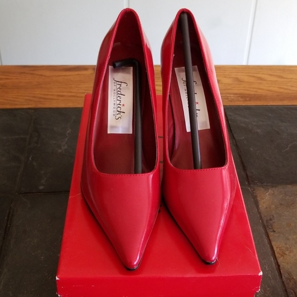 Patent Leather Red Heels Brand New
